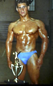 chad shaw first competition