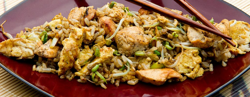 Healthy Chicken Fried Rice