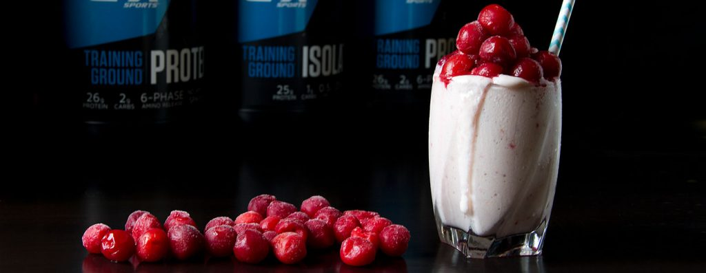 Cherry Cheesecake Protein Shake