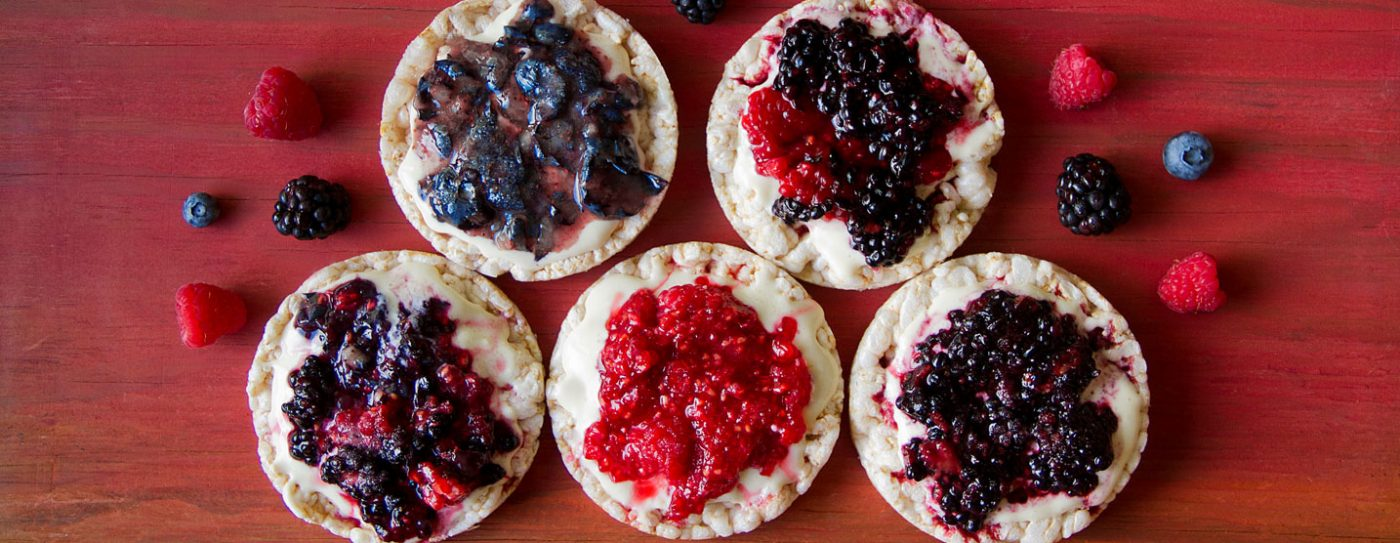 Smashed Berry Tarts