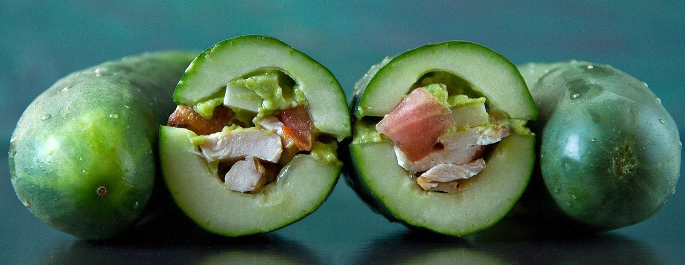Breadless Cucumber Sandwiches